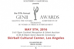 Alliance for Women in Media Southern California Announce 2016 Genii Awards Honorees