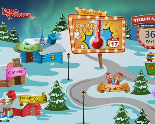 Top Pay-TV Providers Bring Holiday Cheer To Subscribers With The Zone·TV Santa Tracker