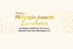 Chris Huppertz selected as Rising PR Star in this year's PR News PR People Awards
