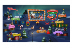 Family-friendly Holiday Favorite, Santa Tracker, Powered by Zone·tv™, Returns for the 10th Year to Deliver Holiday Cheer to Top Pay-TV Providers