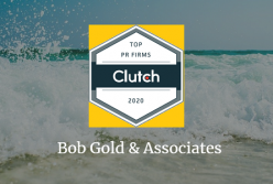 Bob Gold & Associates Named Top Public Relations Firm by Clutch