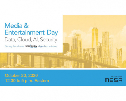 MESA'S Media & Entertainment Day Tackles Challenges and Solutions for Today's Remote Work Environment