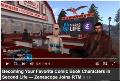 EPIK Partners with Linden Lab, the creator of Second Life to Bring Popular Comic Book Publisher Zenoscope Universe to Life Inside the Metaverse